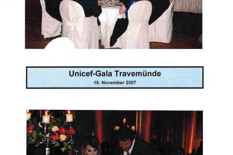 Fotos zur Unicef Gala Travemünde Lübecker Nachrichten 18 11 2007 Seite 2