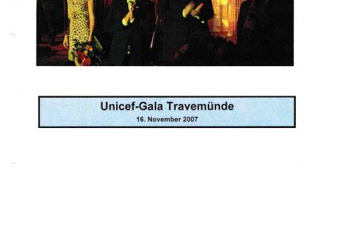 Fotos zur Unicef Gala Travemünde Lübecker Nachrichten 18 11 2007 Seite 4