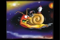 S-Weltraumschnecke