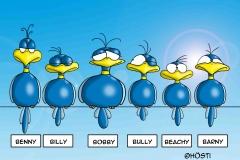 HBB Charaktere zusammen color