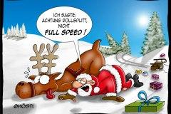 Full speed Rollsplitt offen
