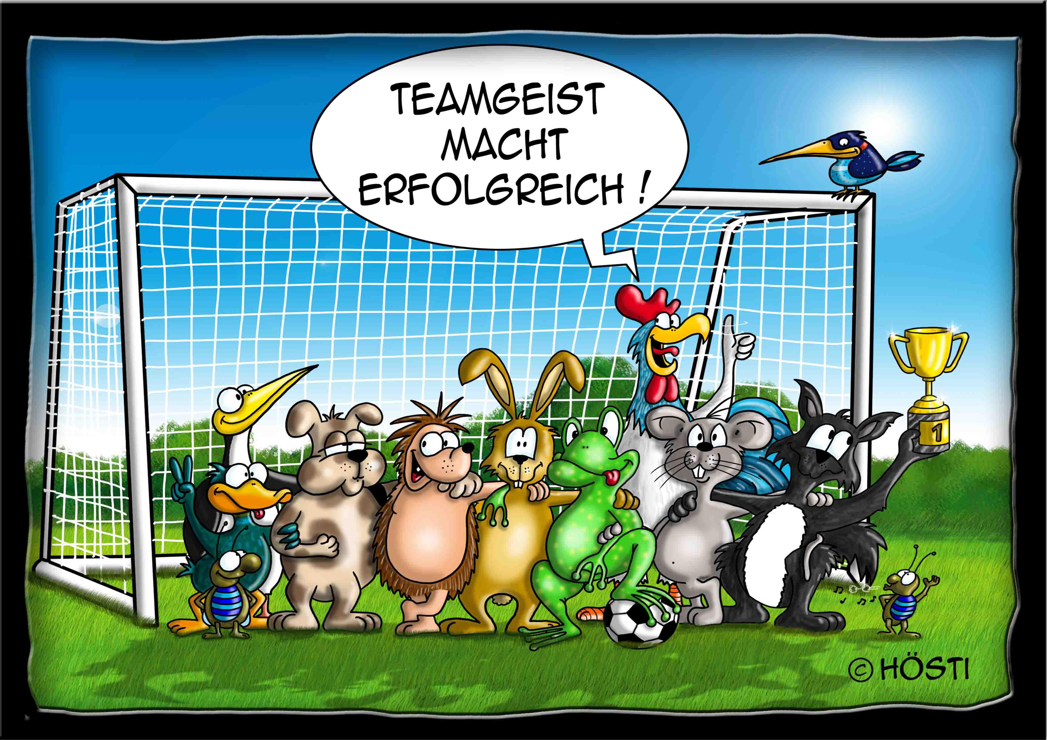 Höstis Itschi Igel Hösti Cartoons