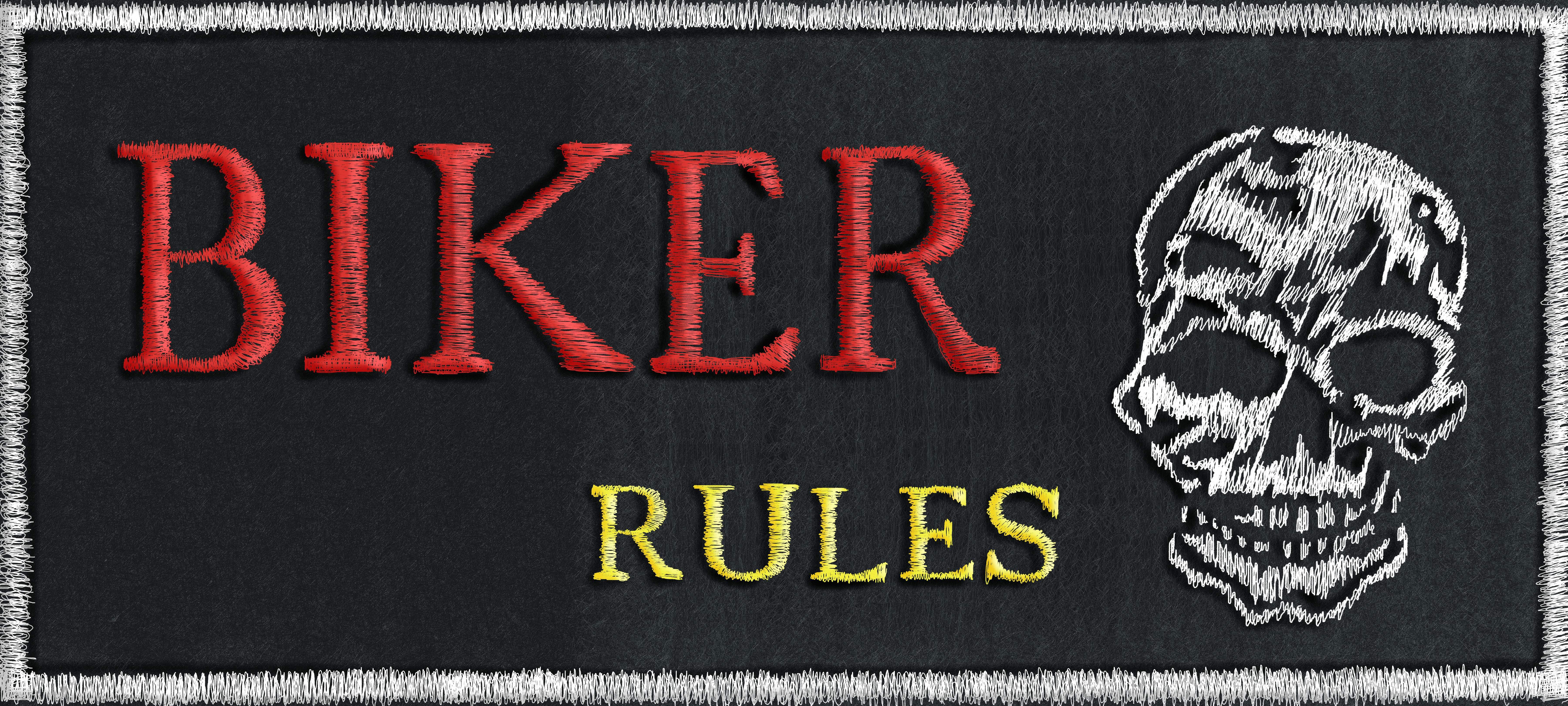 Biker Rules 2 verbessert mit Schatten abg