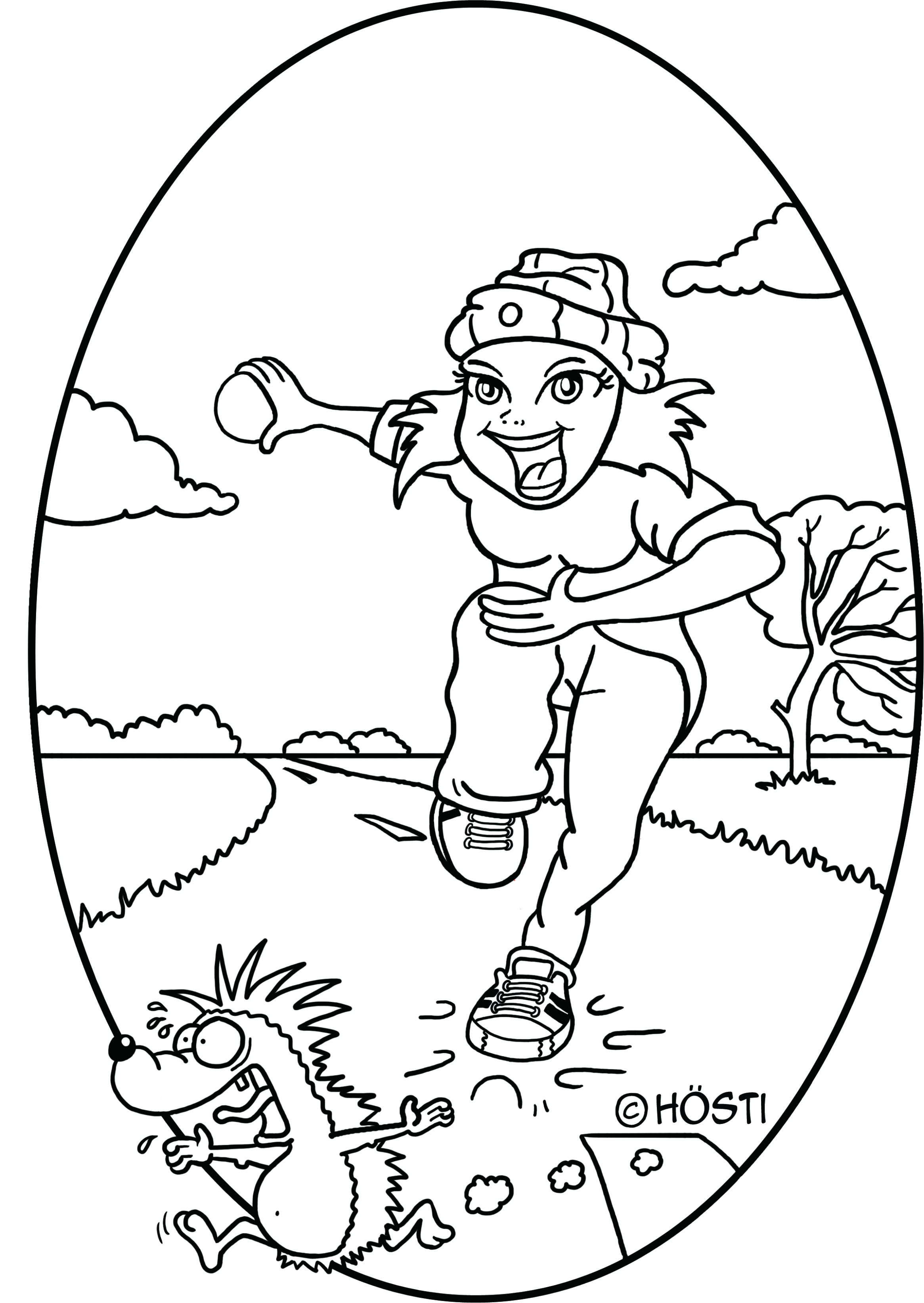 Bosseln Hösti Cartoons