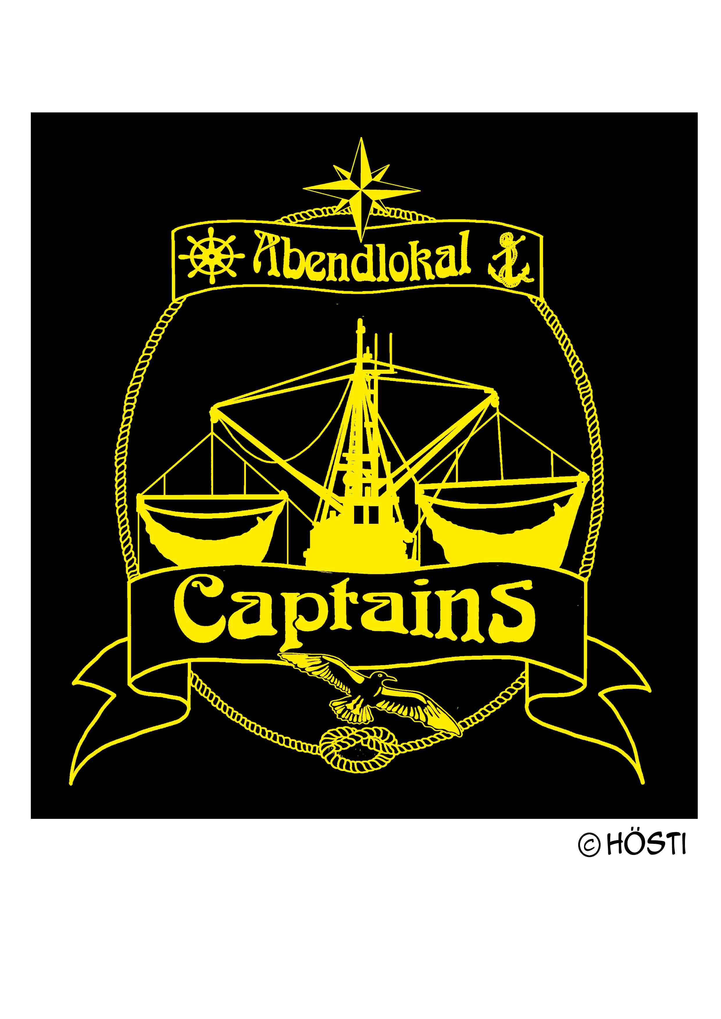 Captains Logo KUTTER outline STICK