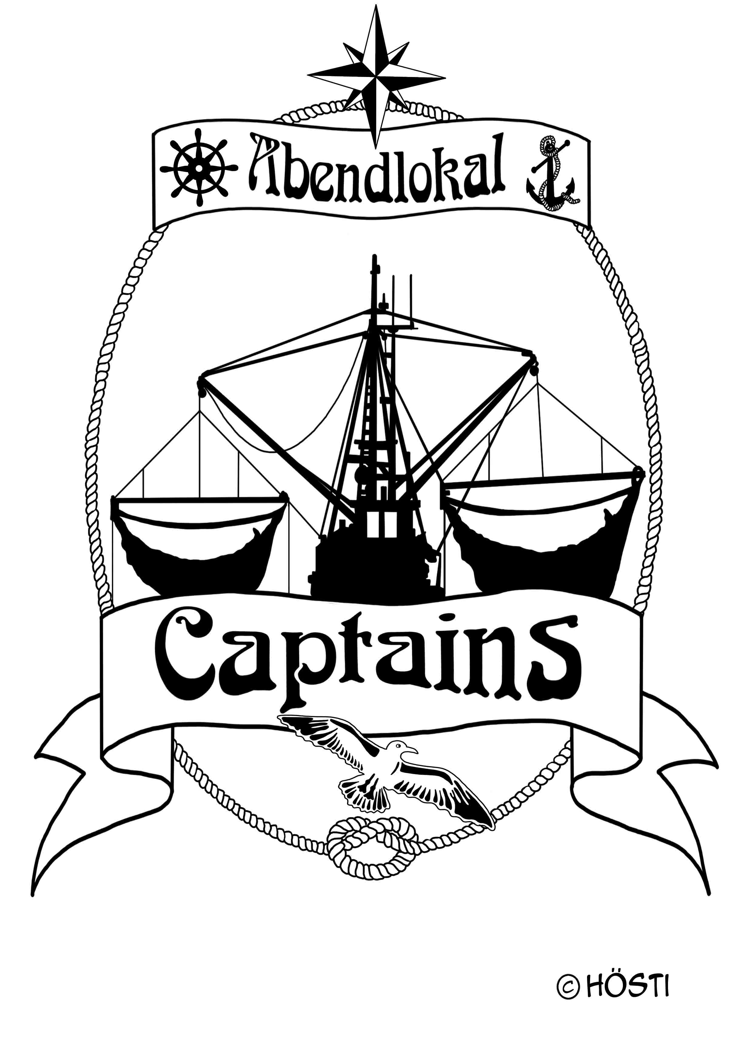 Captains Logo KUTTER outline