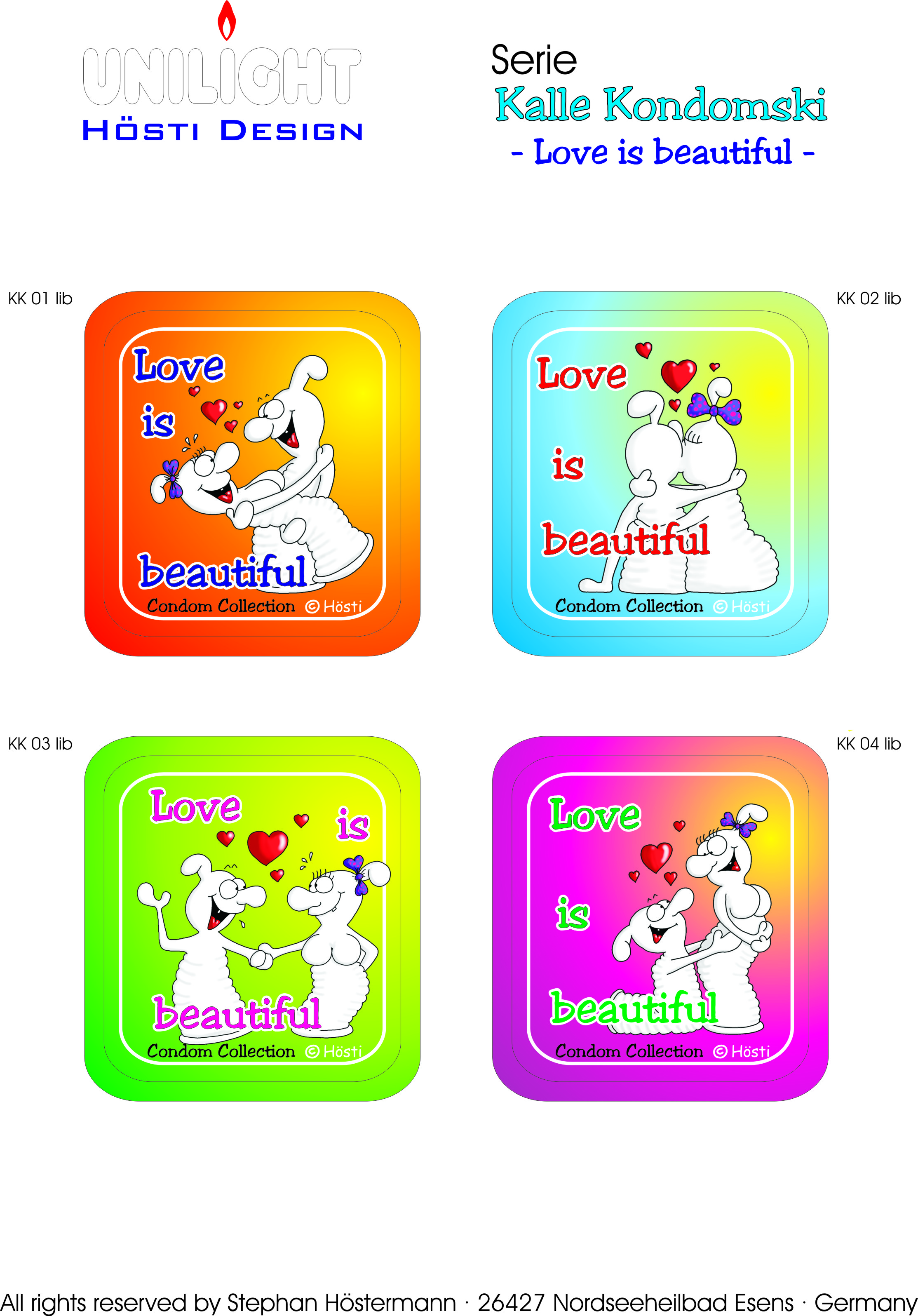 KK 1 - 4 Love is beautiful