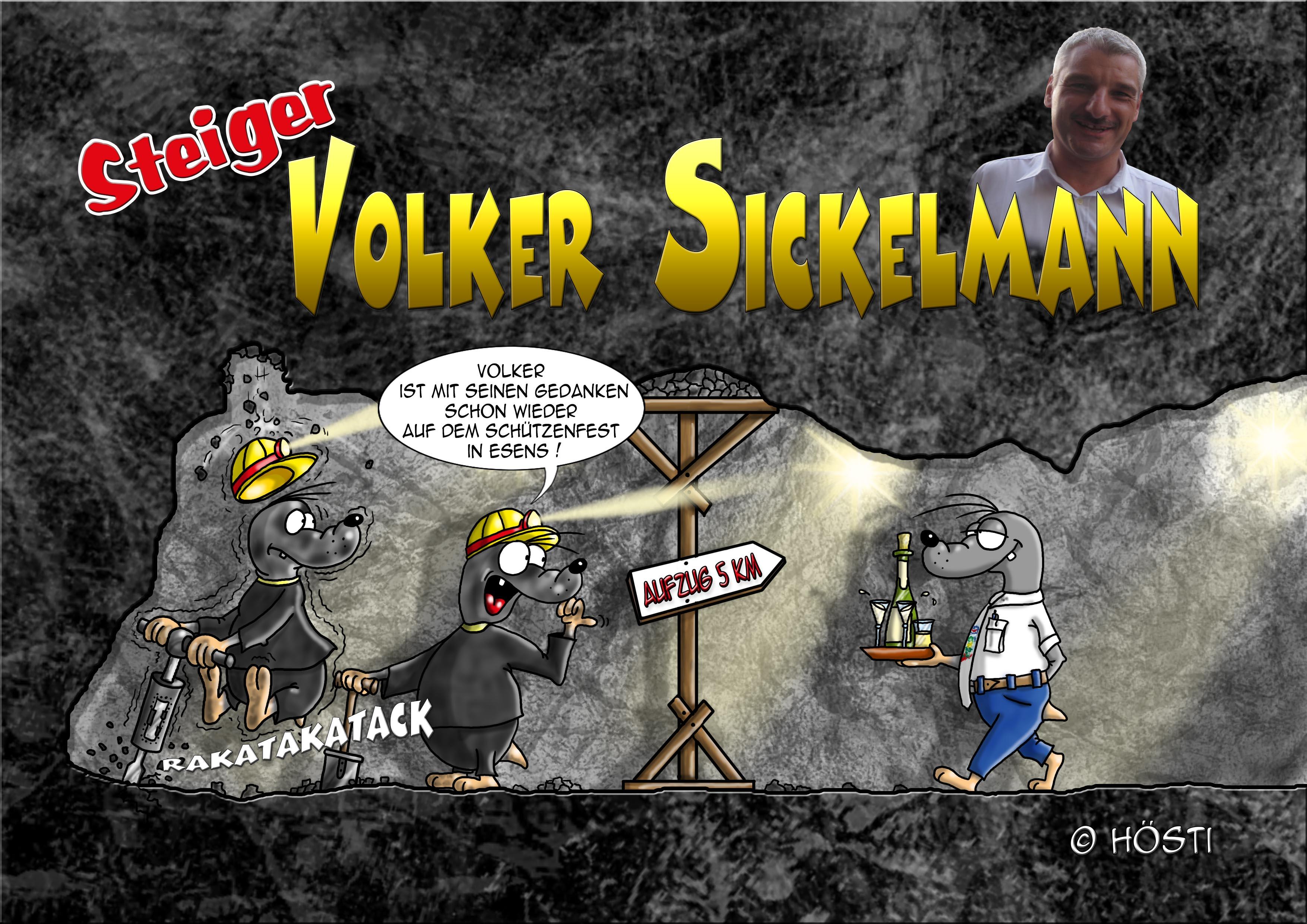Volker Sickelmann Cartoon