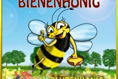 Hochzeitszeitung Honigwerbung