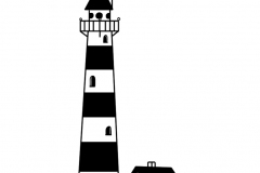 Leuchtturm auf insel 1