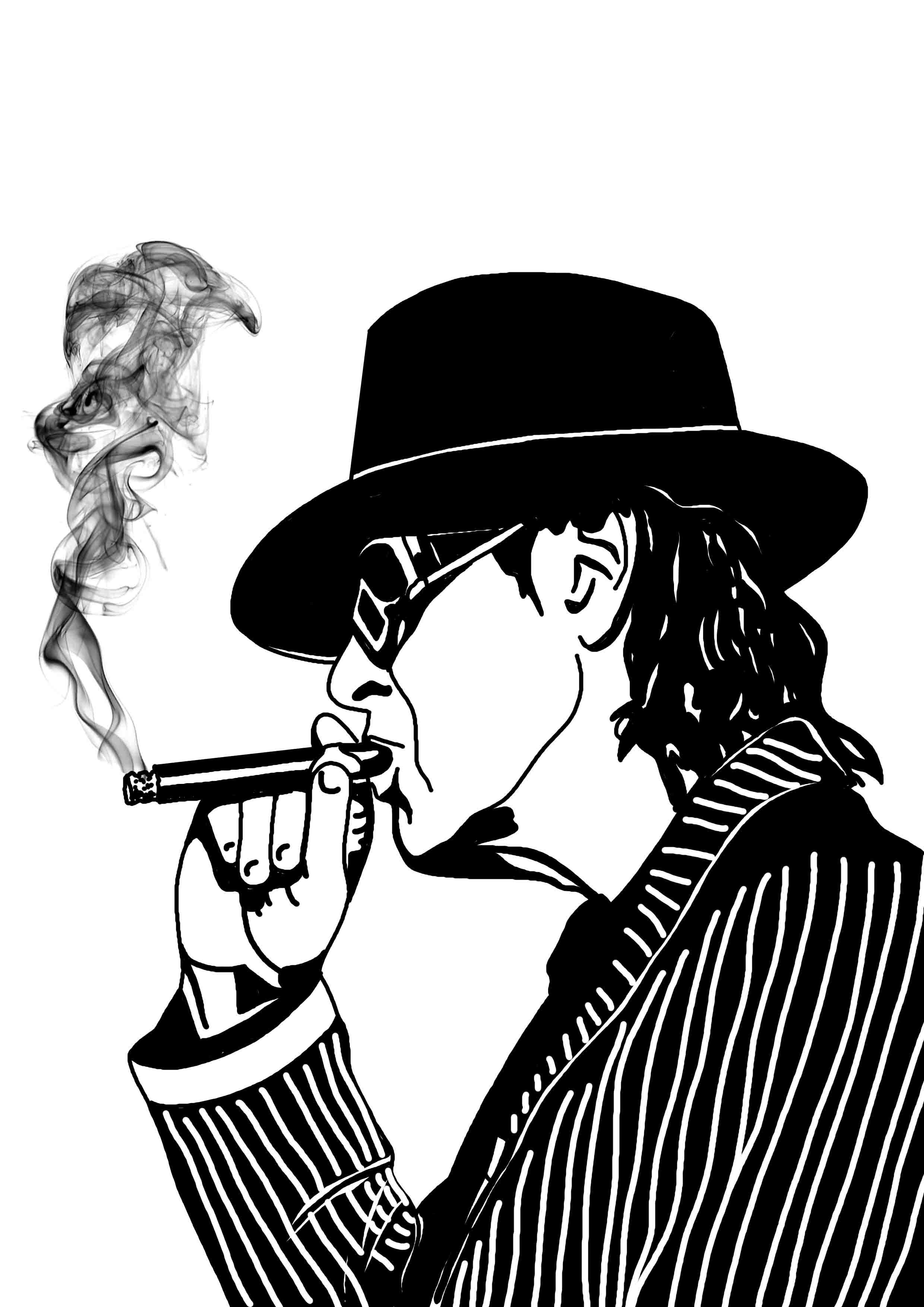 udo rauchend 1