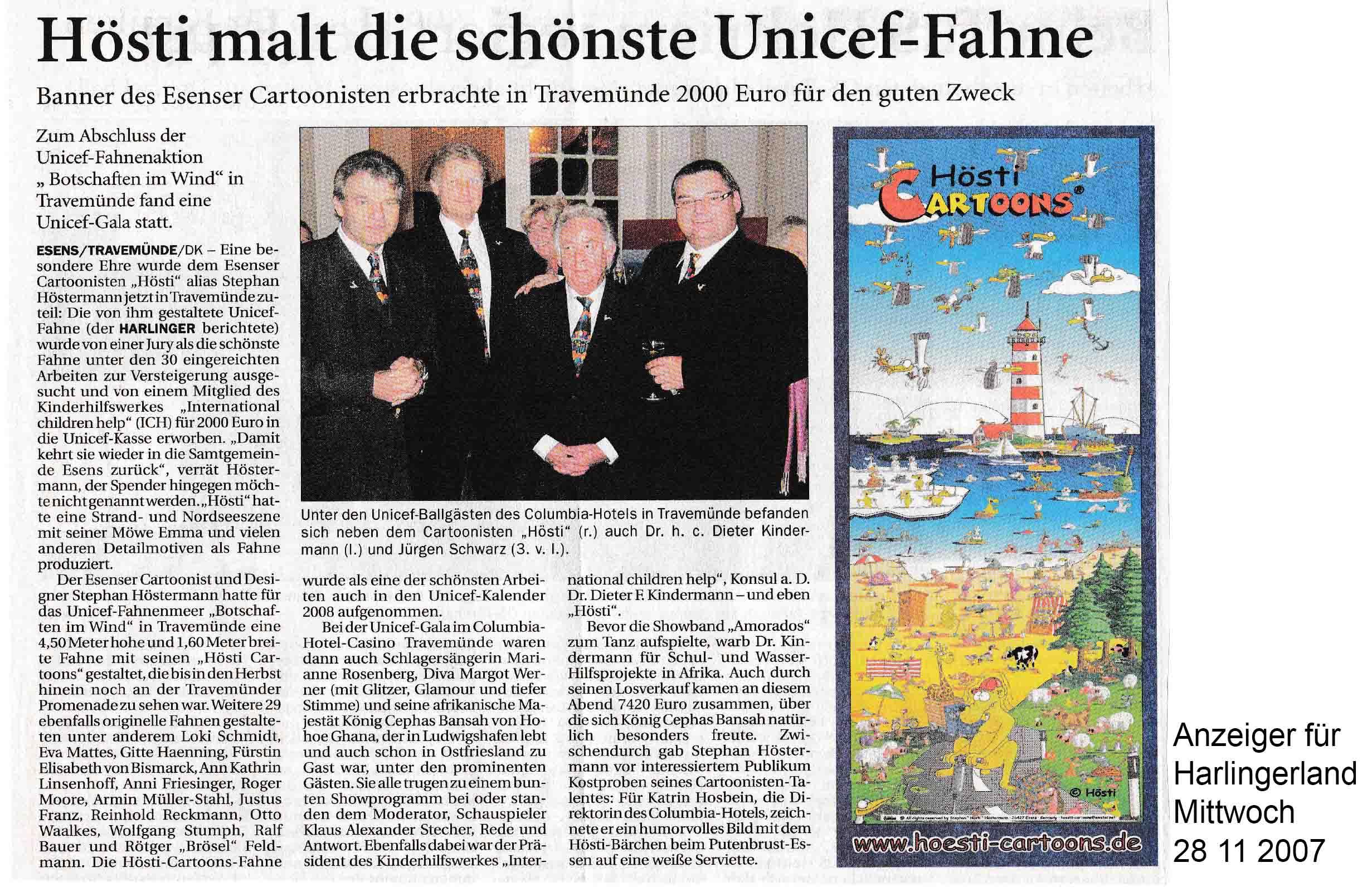 Anzeiger für Harlingerland Mittwoch 28 11 2007
