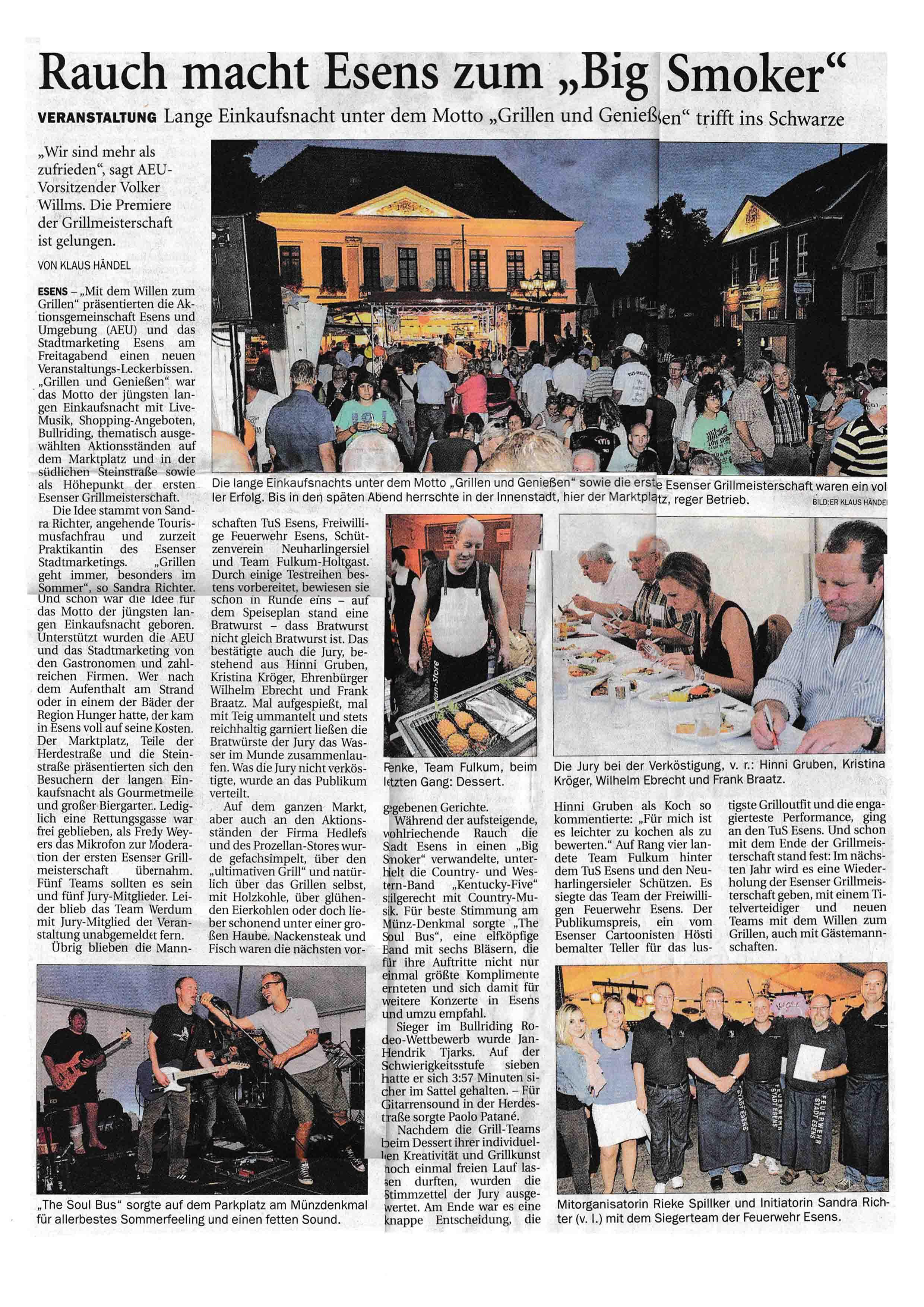 Anzeiger für Harlingerland Montag 20 08 2012 Seite 4