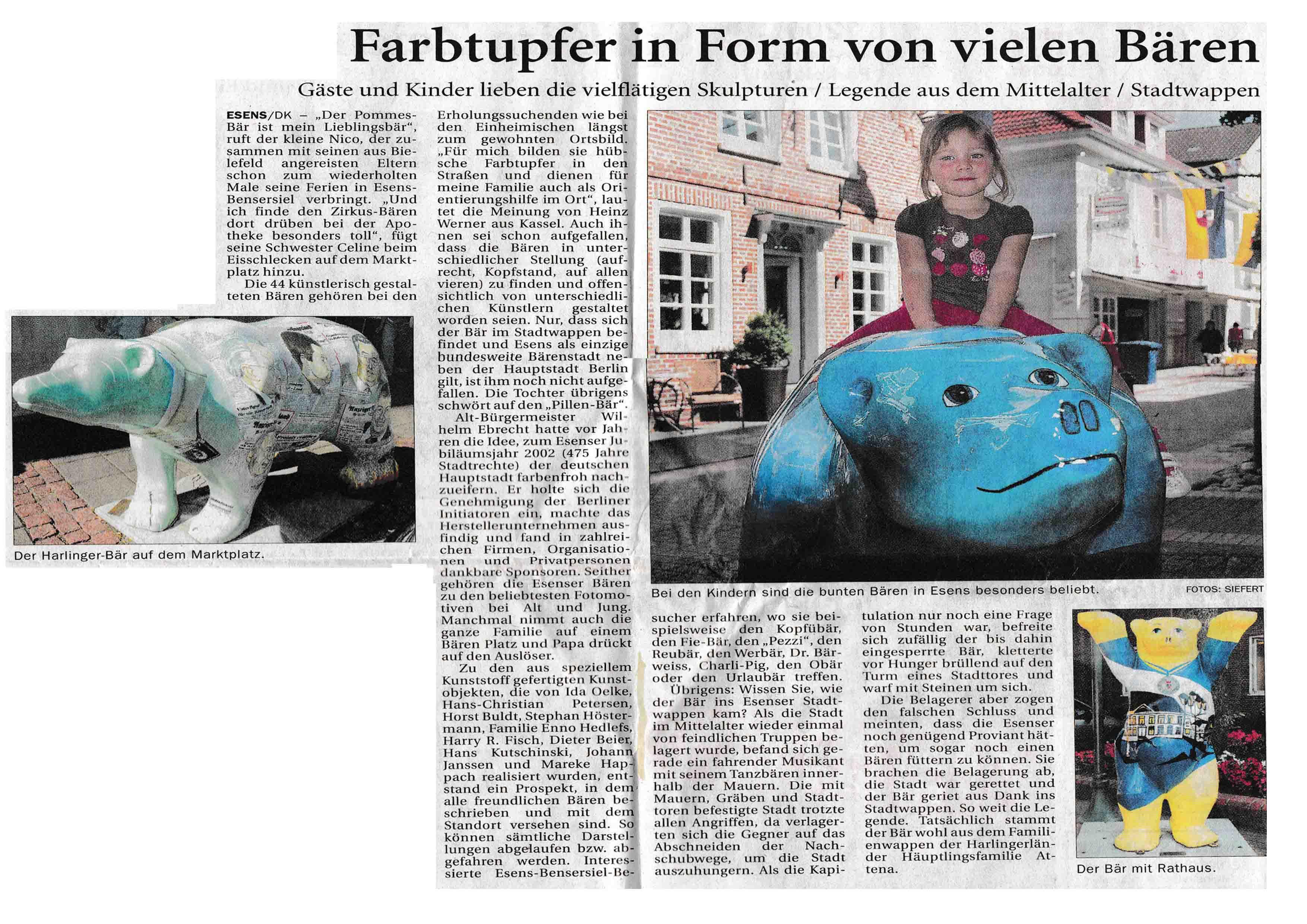 Anzeiger für Harlingerland Sonderausgabe Seite 30 Donnerstag 23 07 2009