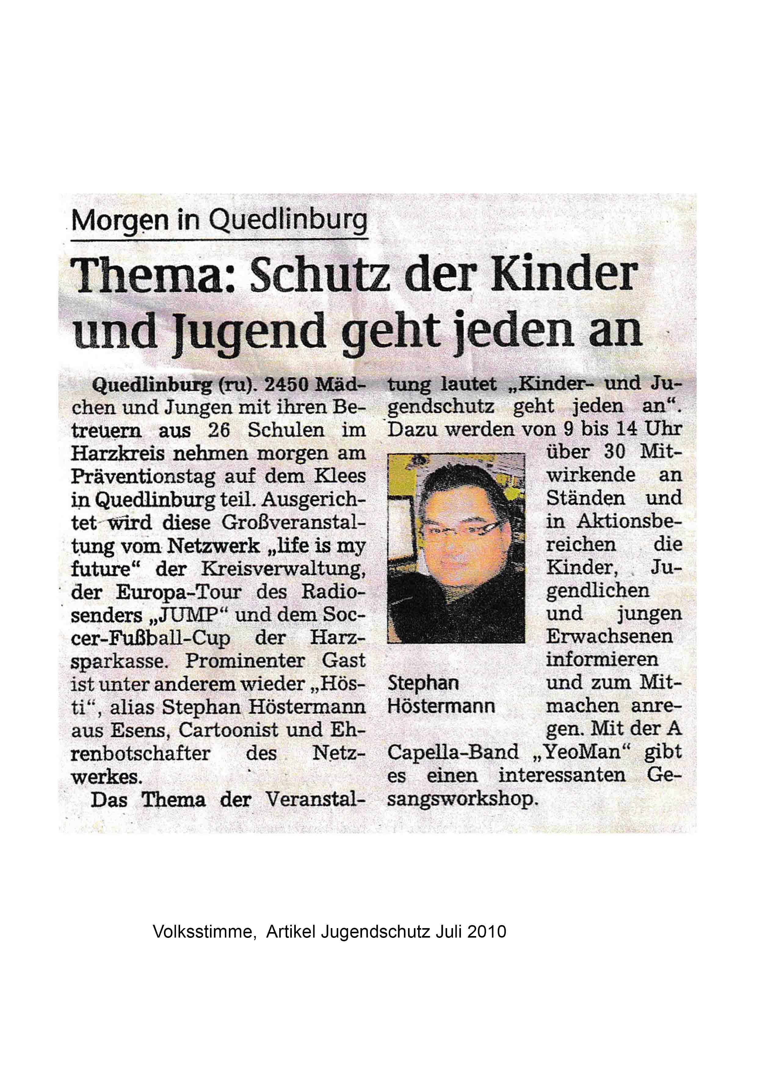 Artikel Jugendschutz Juli 2010