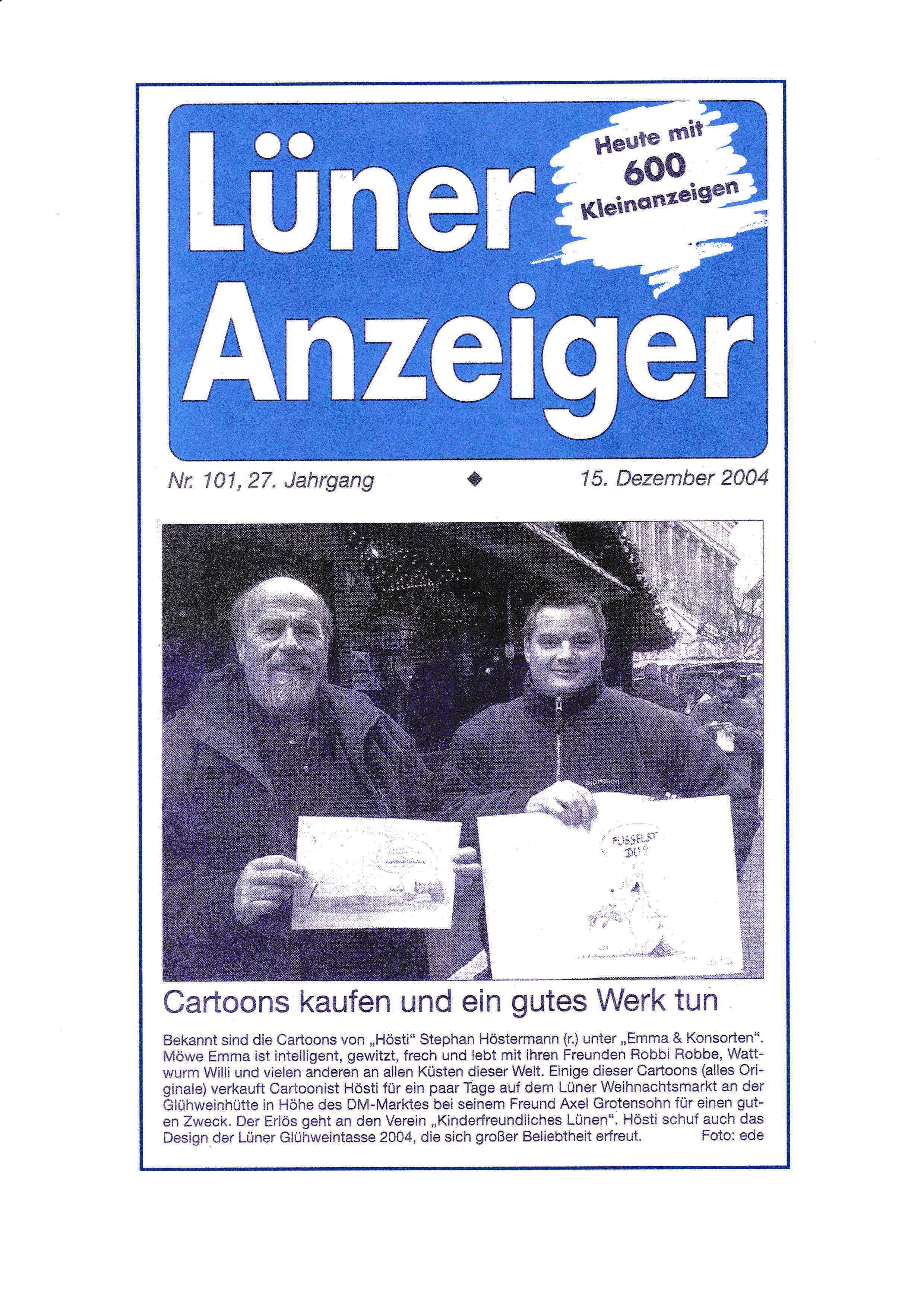Lüner Anzeiger 14 12 2004