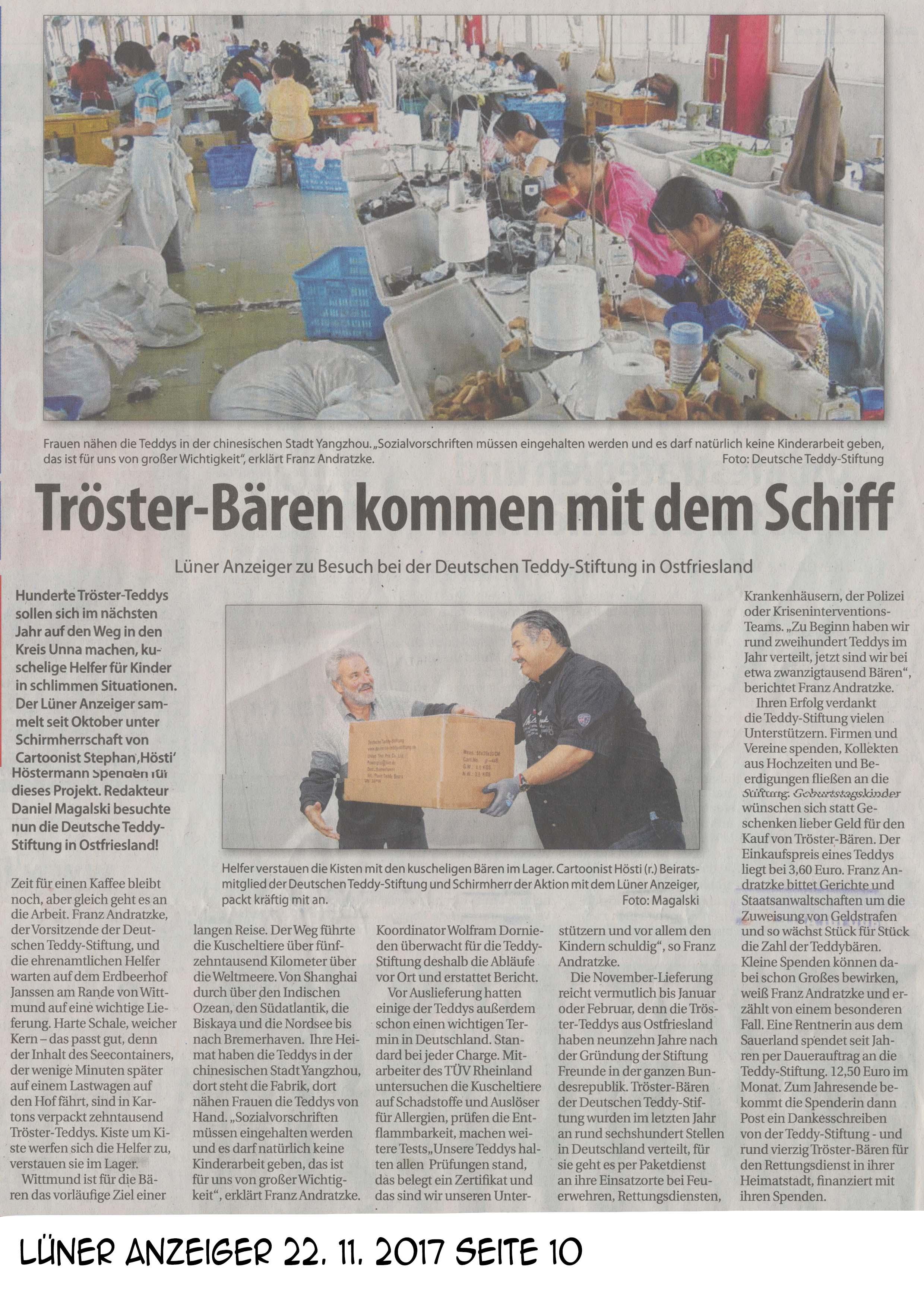 Lüner Anzeiger 22 11 2017 Seite 10