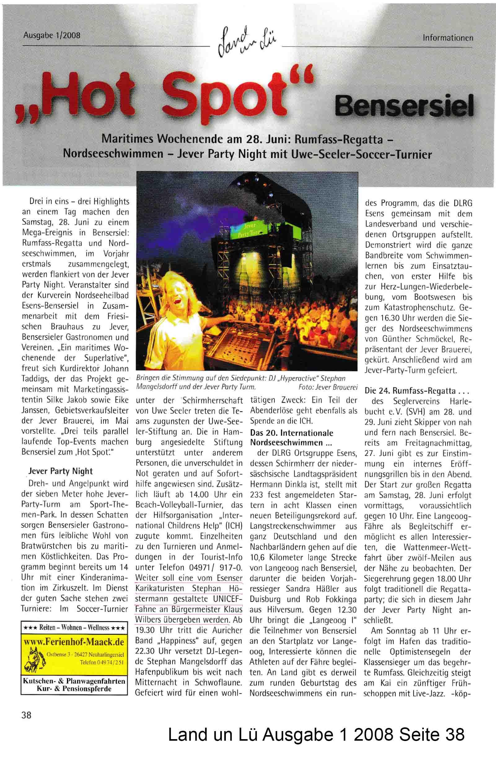 Land un Lü Ausgabe 1 2008 Seite 38