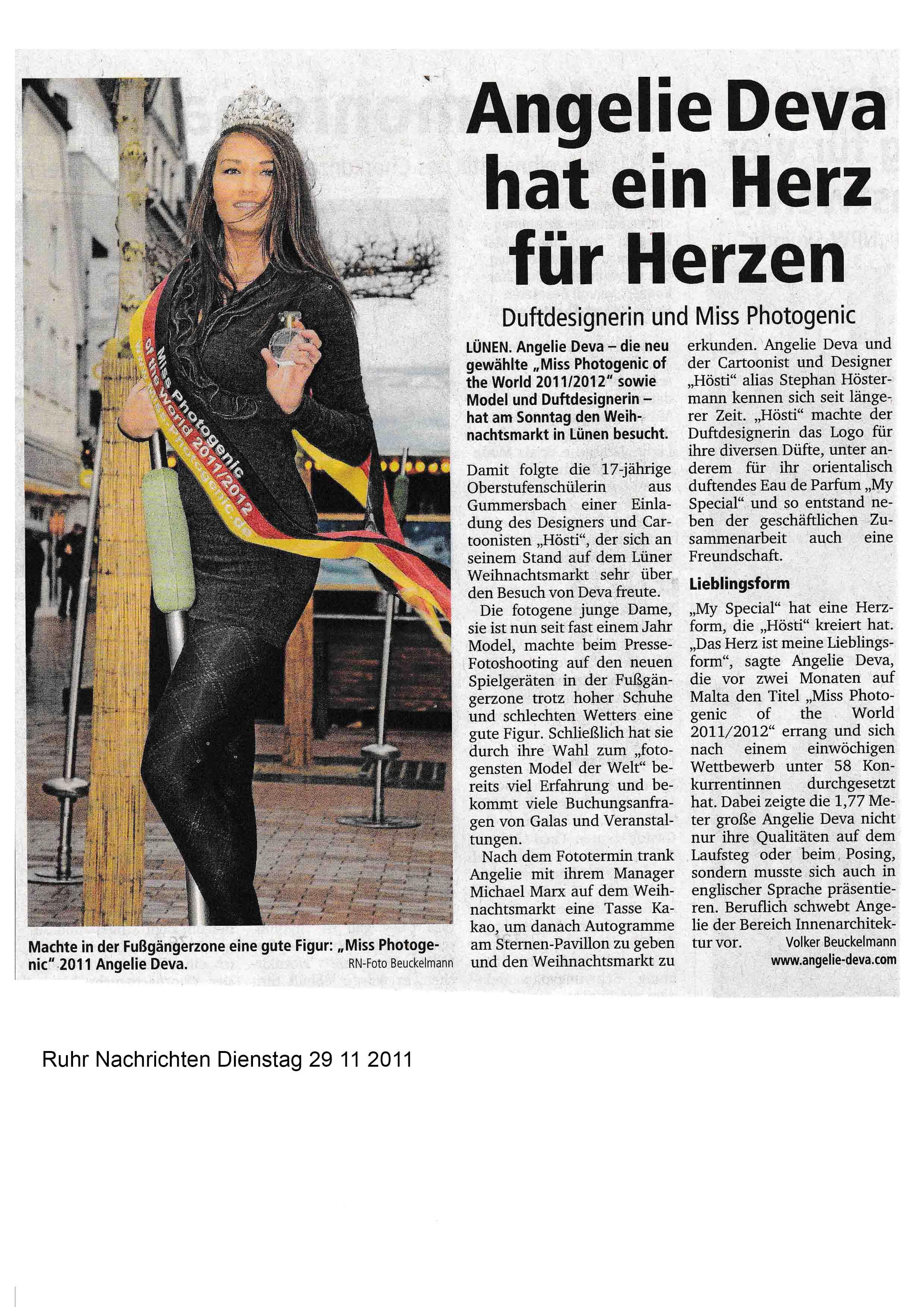 Ruhr Nachrichten Dienstag 29 11 2011