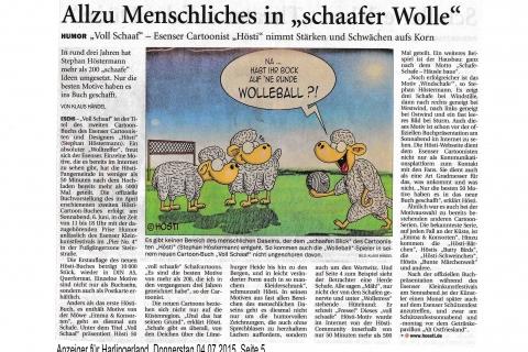Anzeiger für Harlingerland Donnerstag 04 07 2015 Seite 5