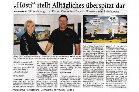 Anzeiger für Harlingerland Donnerstag 10 10 2013 Seite 5