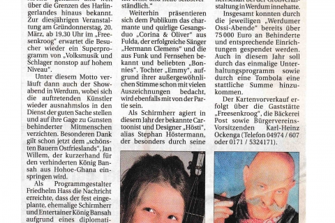 Anzeiger für Harlingerland Donnerstag 13 03 2008 Seite 4