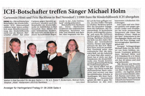 Anzeiger für Harlingerland Freitag 01 08 2008 Seite 4