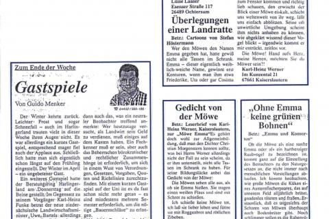 Anzeiger für Harlingerland Leserbriefe 2001