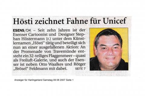 Anzeiger für Harlingerland Samstag 09 08 2007 Seite 1