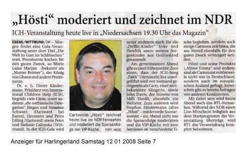 Anzeiger für Harlingerland Samstag 12 01 2008 Seite 7