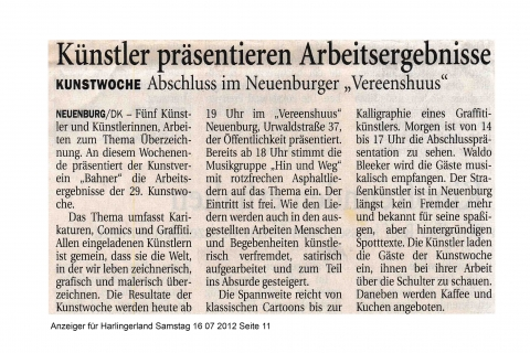 Anzeiger für Harlingerland Samstag 16 07 2012 Seite 11