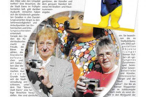 Esens Bensersiel Stadt und Gästemagazin Ausgabe 2 Sommer 2003 Seite 39