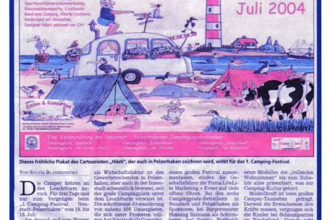 Lübecker Nachrichten 14 07 2004 Seite 14