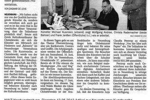 NWZ Nordwestzeitung, Dienstag 12.06