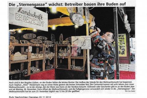 Ruhr Nachrichten Dienstag 20 11 2012