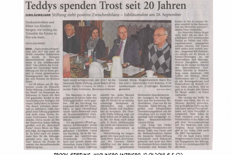 Teddy-Stiftung Harlinger Anzeiger 12012018 S 5  2