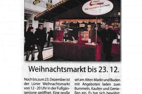 weihnachts Journal des Lüner Anzeigers Mittwoch 21 12 2011