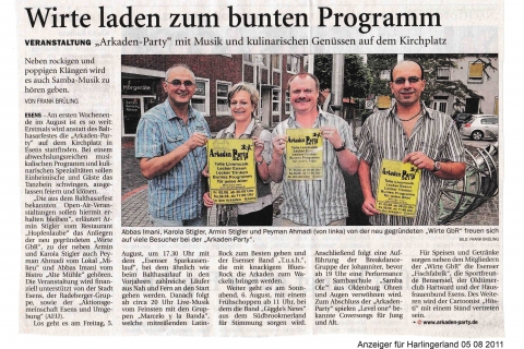 Anzeiger für Harlingerland 05 08 2011