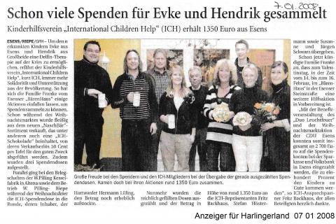 Anzeiger für Harlingerland 07 01 2008