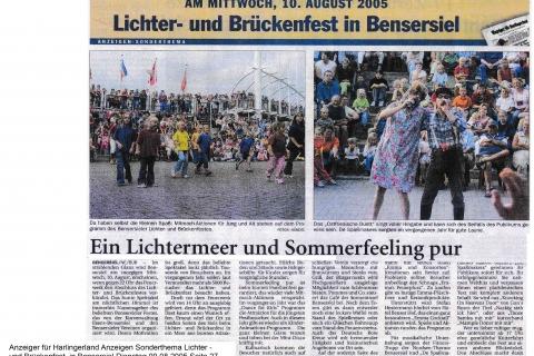 Anzeiger für Harlingerland Anzeigen Dienstag 09 08 2005 Seite 27