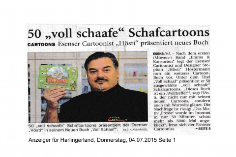 Anzeiger für Harlingerland Donnerstag 04 07 2015 Seite 1