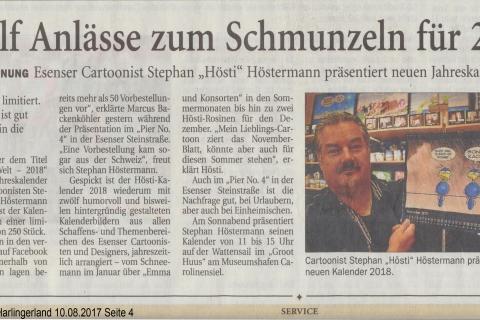 Anzeiger für Harlingerland Donnerstag 10 08 2017 Seite 4