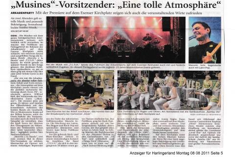 Anzeiger für Harlingerland Montag 08 08 2011 Seite 5
