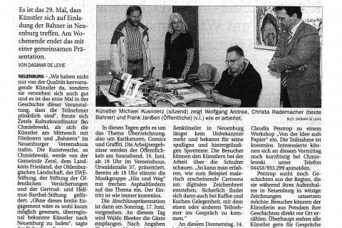 Artikel Neuenburger Kunstwoche