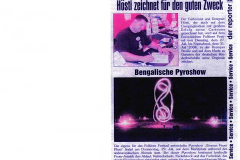 Der Reporter 25 Trachtenwoche Neustadt in Holstein Mittwoch 19 05 2004