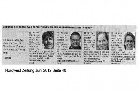 Nordwest Zeitung Seite 40