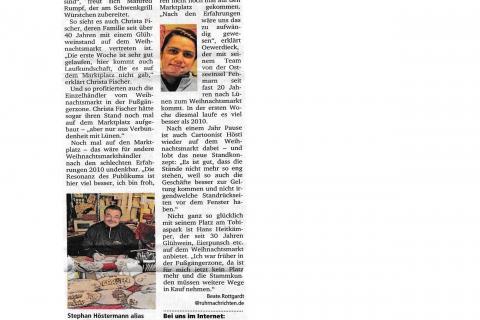 Ruhr Nachrichten Dienstag 29 11 2011 B