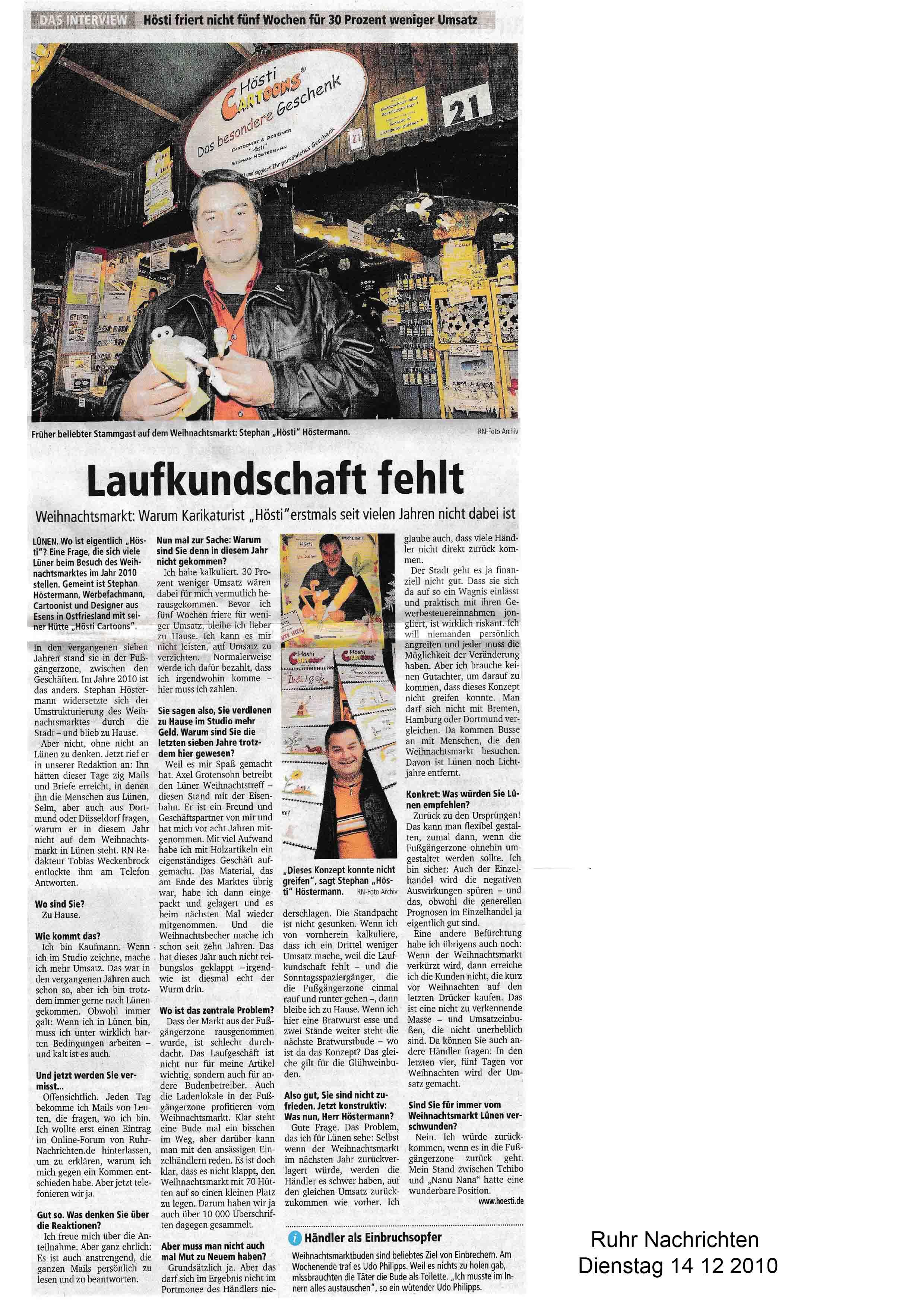 ruhr Nachrichten Dienstag 14 12 2010