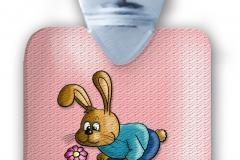 kinderflasche frei rosa freiHase blume struktur abg