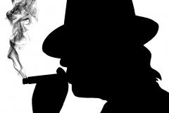 udo rauchend 1 schwarz